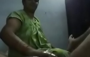 Telugu aunty reject b do away with job