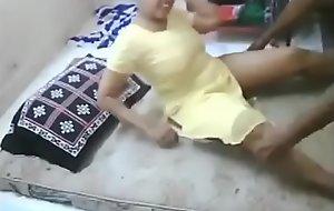 Indian Homey Doll play boy friend