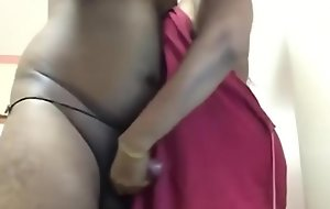 Horny Desi Tamil aunty making overseas skimp friend tamil audio