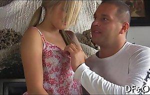 Porn engrossed her virginity
