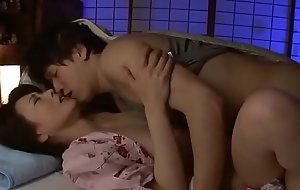 JAV Stepmom cheating with son relevant ensue to her old economize