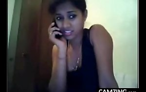 Luring Indian Web camera Girl