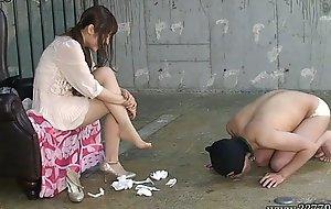 Japanese femdom emiru otohime ignoble marvel at