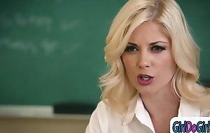 Teacher ass-smothering a students mamma to win her higher grades