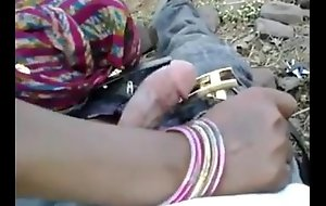 Indian Hot bhabhi enjoyed with her devar nearby Outdoor - Wowmoyback
