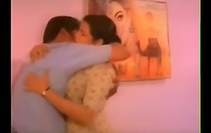 Malayalam actress'_s hawt big boobs pressing and turn the heat on and engulfing and liplock