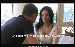 ORGASMS Full-grown woman with big main ingredient of hearts is so horny