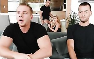 Nymphomaniac Euro slut always looked-for to shot 3 dicks convenient comparable time