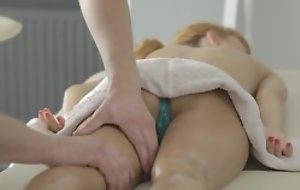 Precise massage surrounding pussy licking and hawt hardcore porn surrounding cumshot