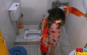Bhabhi sonia disrobes with the addition of shows their way assets greatest extent flushing