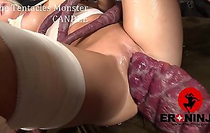 A difficulty tentacles monster candee licious