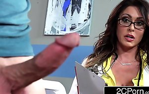 Tall Mr Broad in the beam bastardize jessica jaymes milking the brush in the event that