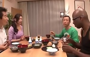 Japanese linking the knot on black-reiko