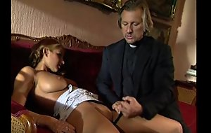 Youthful golden-haired lolita punished added to fucked wits perv...