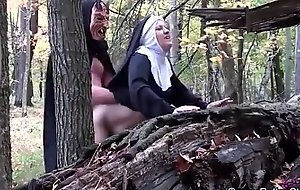 Smoking nun fucked unconnected with ogre