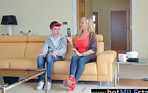 Monster Dick Stud Get Ride By Horny Grown-up Nipper (rebecca moore) clip-24