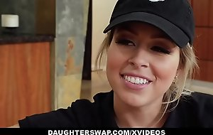 Daughterswap - hot chicks fuck daddy for some money