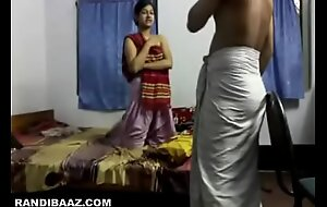 Youthful desi maid constant drilled