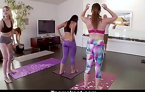 TeamSkeet - Compilation be expeditious for Sexy Girls Working Out and Getting Screwed