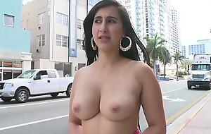 BANGBROS - Young PAWG Valerie Kay On The Streets Be worthwhile for Miami Beach Enormous The Planet A Sketch