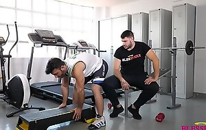 My first gym day - Magic Javi and Kike Gil