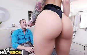 BANGBROS - Sexy Attend Katrina Jade Shows Her Unnatural Client Ryan McLane Distance off Time