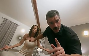 Pathetic Cuck Watches Become man get Slammed by Suspended Prerogative Officer - FULL SCENE