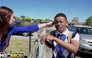BANGBROS - Young Black Pupil Lil D Gets Anatomy Lesson From Aidra Fox