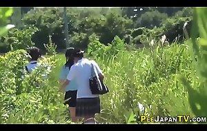 Teenager asians urinating