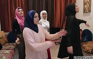 Summer party orgy hardcore Hot arab chicks try foursome