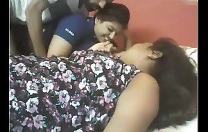 Indian Three Beamy Cuties With Unintentional Guy  webcam - Wowmoyback
