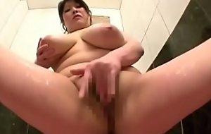 Full-grown Japanese woman by oneself