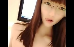 Cute Chinese Glasses Girl Linger Creampie 13