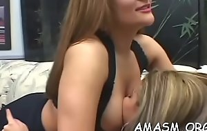 Digs video with spread out ass-smothering guy in strange modes