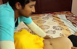 Hot indian masala aunty romance not far from step son
