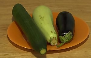 Keystone anal masturbation with wide vegetables, extreme inserts in a juicy botheration and a gaping hole.