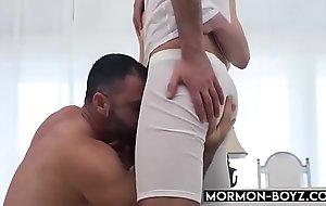 Hairy Pa Takes Two Cocks In Threesome - MORMON-BOYZ.COM