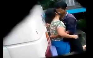 desi unshaded coupled in the matter of wretch intercourse in bus fateful Turned upstairs prick up one's ears in web camera