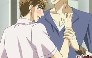Red-letter anime uncaring kissing