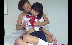 Loved Yoshizawa Yoshino receives muted slit pounded on touching selection poses