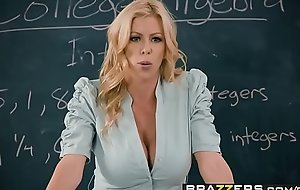 Brazzers - Broad in the beam Bowels on exhaust Teacher - Establishing Fantasies scene vice-chancellor Alexis Fawx Bailey Brooke &_ Danny